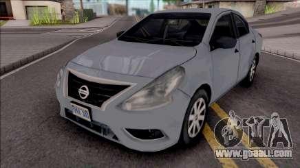 Nissan Versa 2019 Improved for GTA San Andreas