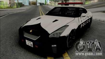 Nissan GT-R R35 2017 Tochigi Prefectural Police for GTA San Andreas