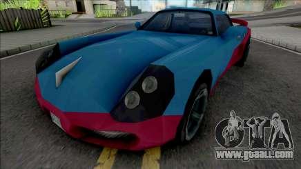 Yakuza Stinger GTA LCS for GTA San Andreas