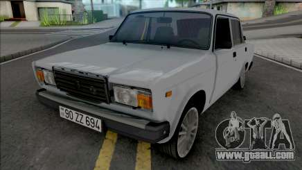 Vaz 2107 Full Real for GTA San Andreas