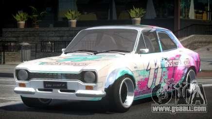 Ford Escort Urban Racing PJ7 for GTA 4