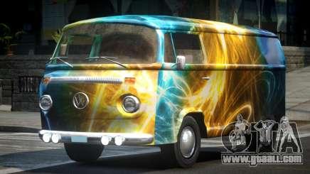 Volkswagen Transporter T2 70S L9 for GTA 4