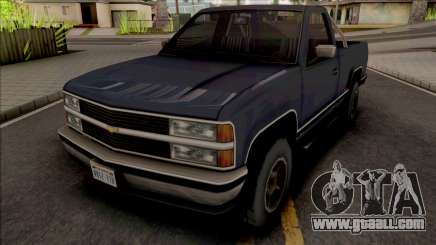 Chevrolet Silverado 2001 Improved for GTA San Andreas