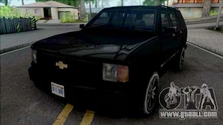 Chevrolet Blazer [BETA] for GTA San Andreas