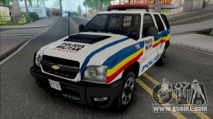 Chevrolet Blazer Advantage 2009 PMMG for GTA San Andreas