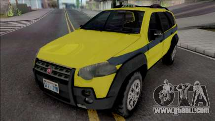 Fiat Palio Weekend Adventure 2013 Taxi RJ for GTA San Andreas
