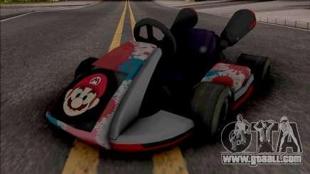 Mario Kart for GTA San Andreas