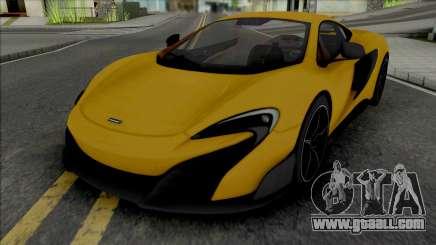 McLaren 675LT 2015 for GTA San Andreas