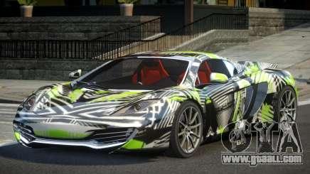 McLaren MP4-12C PSI-R PJ10 for GTA 4