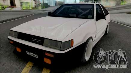 Toyota AE86 Levin Touge Version for GTA San Andreas