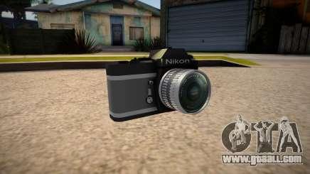 The camera is Nikon for GTA San Andreas