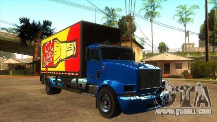 GTA V MTL Flatbed (VehFuncs Style) for GTA San Andreas