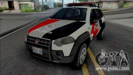 Fiat Palio Weekend Adventure 2013 PMESP for GTA San Andreas