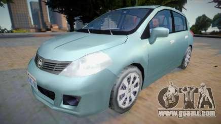 Nissan Tiida 2012 - Improved v2 for GTA San Andreas