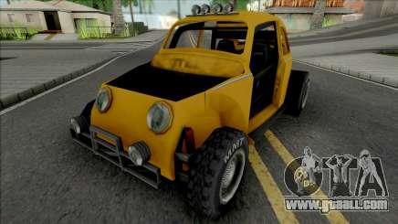 Volkswagen Fusca Buggy (Baja) Improved for GTA San Andreas