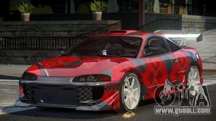Mitsubishi Eclipse 90S PJ7 for GTA 4