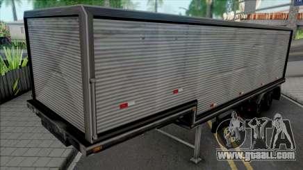 Semi-trailer v2 for GTA San Andreas