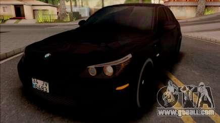 BMW M5 E60 Mafia for GTA San Andreas