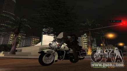 MGCRP Police Bike for GTA San Andreas