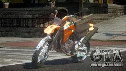 Yamaha XT660 for GTA 4