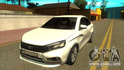 Lada Vesta RP for GTA San Andreas