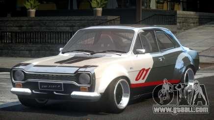 Ford Escort Urban Racing PJ2 for GTA 4