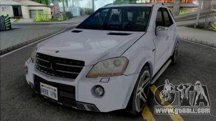 Mercedes-Benz ML 63 AMG 2009 Improved for GTA San Andreas