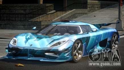 Koenigsegg One GS Sport L5 for GTA 4