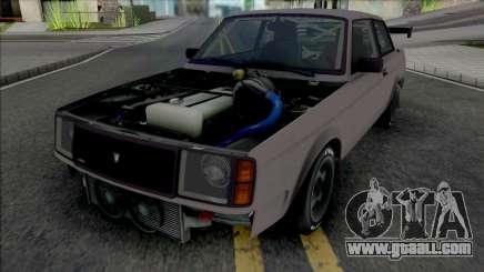 GTA V Vulcar Nebula Turbo [VehFuncs] for GTA San Andreas