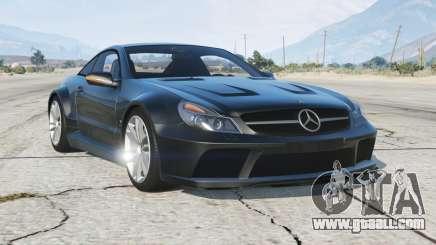 Mercedes-Benz SL 65 AMG Black Series (R230) 2008〡add-on for GTA 5