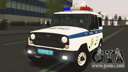 UAS Hunter DPS Evacuation Service for GTA San Andreas