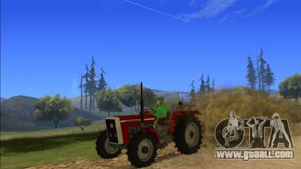 Massey Ferguson 4X4 by Harinder Mods for GTA San Andreas