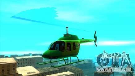 MegaFon Helicopter for GTA San Andreas