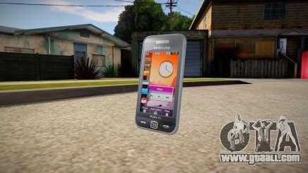 Samsung Star TV S5233T for GTA San Andreas