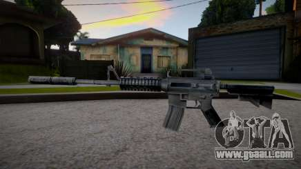 M4 from Counter Strike 1.6 for GTA San Andreas