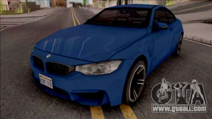 BMW M4 Improved v2 for GTA San Andreas