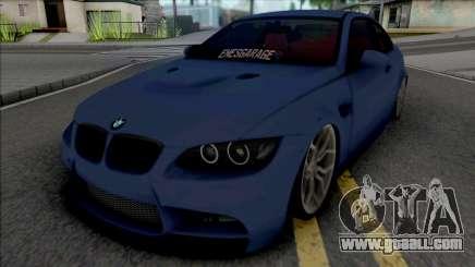 BMW M3 E92 EnesGarage for GTA San Andreas