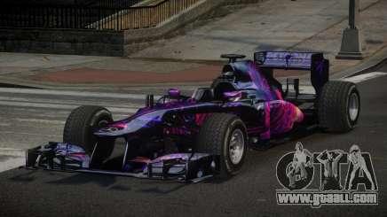 2013 Mercedes-Benz F1 W04 L2 for GTA 4