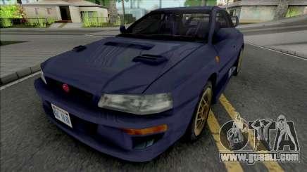 Subaru Impreza 22B Blue for GTA San Andreas
