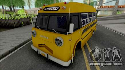 Dodge Bus Escolar for GTA San Andreas