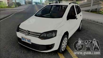 Volkswagen Spacefox 2014 for GTA San Andreas