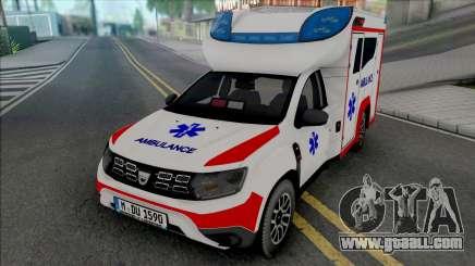 Dacia Duster 2020 Ambulance for GTA San Andreas