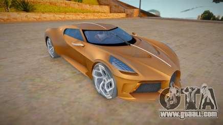 Bugatti La Voiture Noire for GTA San Andreas