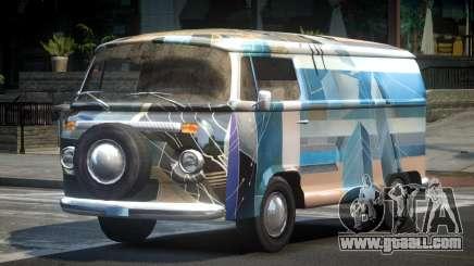 Volkswagen Transporter T2 70S L3 for GTA 4