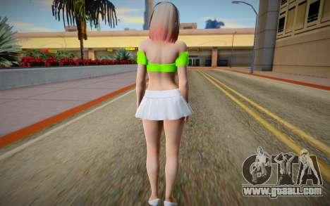 Mai Shiranui Mini Skirt for GTA San Andreas