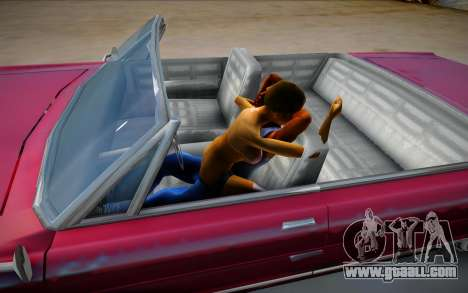 Real sex in the car from GTA V for GTA San Andreas