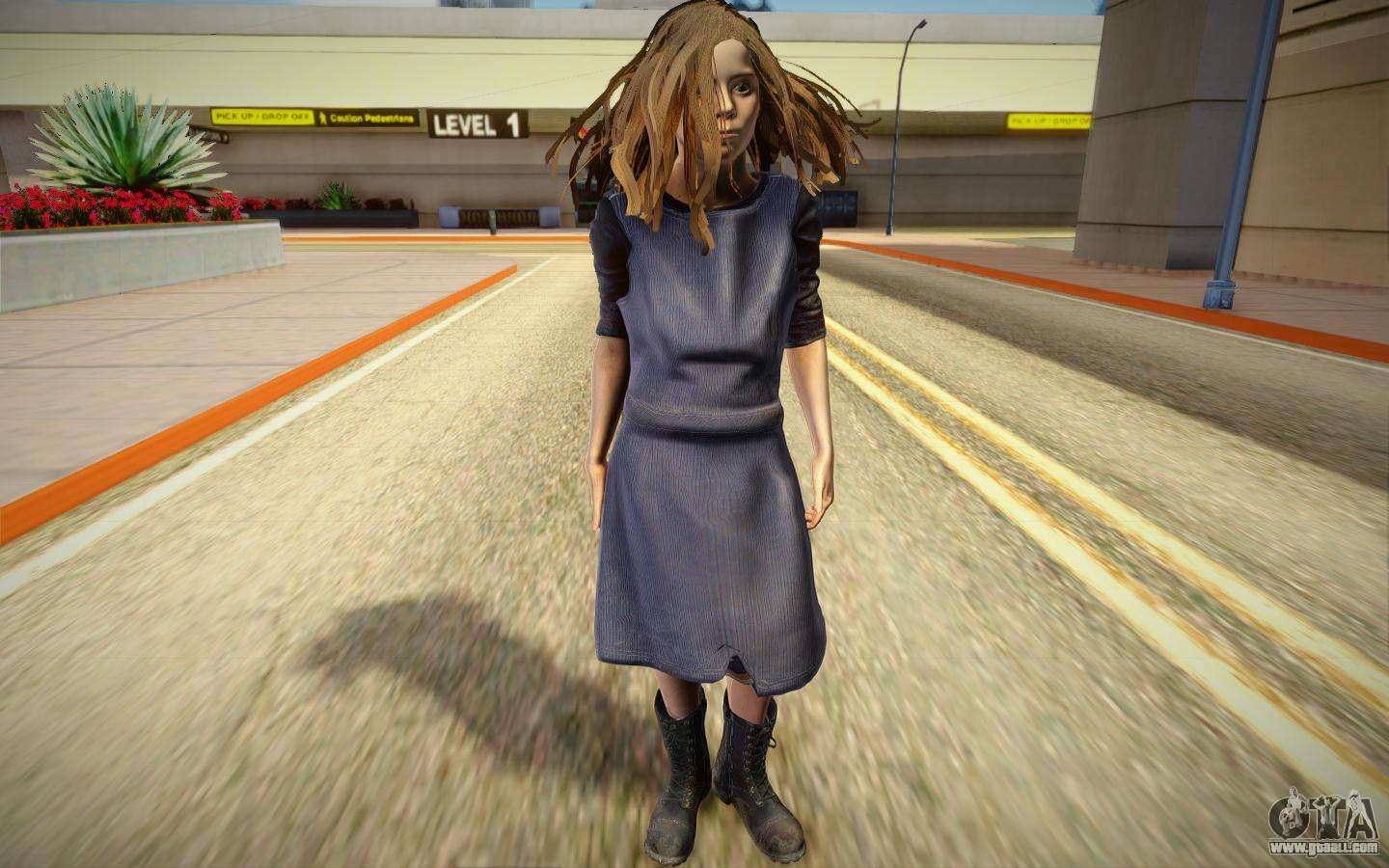 Evelina from Resident Evil 7 for GTA San Andreas