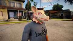 Pig Mask (GTA Online Diamond Heist) for GTA San Andreas