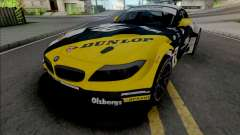 BMW Z4 GT3 Dunlop for GTA San Andreas