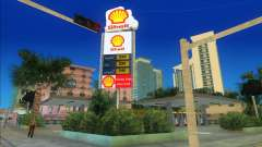 Shell Station mod for GTA Vice City